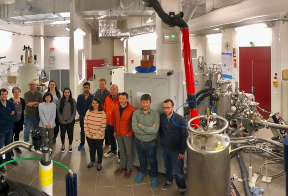 Study visit at the Institute for Nanoscience and Cryogenics in Grenoble